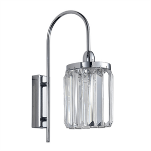Бра Greensboro, Chrome Clear glass L12*H37*Sp24 cm