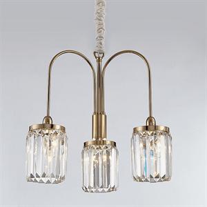 Люстра Greensboro, Gold Clear glass D50*H45 cm