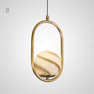Светильник HOOP PLANET тип B золото