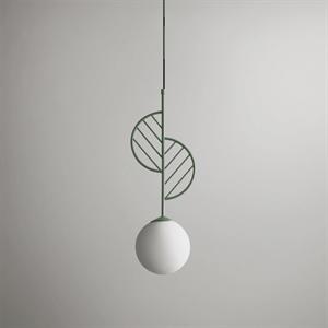 Светильник LEAF тип A зеленый