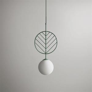 Светильник LEAF тип B зеленый