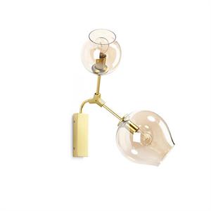 Светильник настенный Branching Bubbles 2 Gold