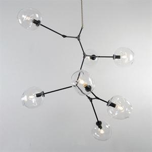 Люстра Branching Bubbles 7 Vertical Black