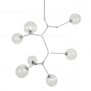 Люстра Branching Bubbles 7 Vertical Nickel
