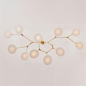 Люстра подвесная Branching Disc 11 Gold