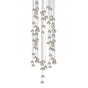 Светильник подвесной Mizu 72 Seventy Two Pendant Chandelier Квадрат / 100 см X 100 см