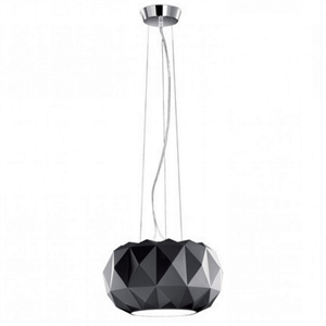 Люстра Arhirivolto Deluxe  Диаметр плафона  O 50 см:Черный