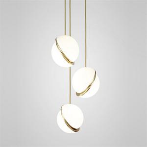 Светильник Crescent Chandelier 3 Gold