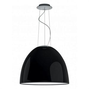 Люстра Nur Gloss  Диаметр 55 см / Высота 43 см Черный