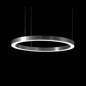 Светильник Light Ring Horizontal D80 Nickel
