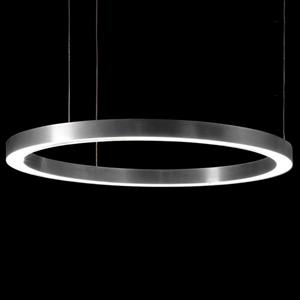 Светильник Light Ring Horizontal D90 Nickel