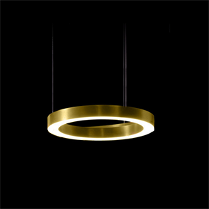 Светильник Light Ring Horizontal D40 Brass