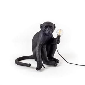 Настольная лампа Обезьяна Monkey Black Table Lamp