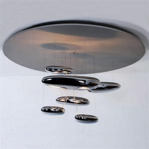 Люстра потолочная Mercury  Диаметр 80 см / Высота 60 см