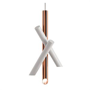 Светильник Tubes 3 White-Copper