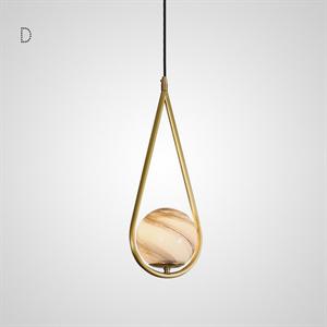 Светильник HOOP PLANET тип D золото