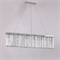 Подвесной светильник New York, Nickel Clear crystal L90*8*H21.5/221.5 cm - фото 10183