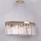 Подвесной светильник New York, Gold Clear crystal 90*30*H35 cm - фото 10193