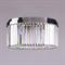 Потолочный светильник New York, Nickel Clear crystal D50*H22.5 cm - фото 10195