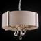 Подвесной светильник Memphis, Nickel Clear crystal Shade beige D64*H43/163 сm - фото 10646
