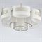 Потолочный светильник Bakersfield, Silver perla Champagne D68*H34 cm - фото 10868