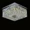 Потолочный светильник Scottsdale, Chrome Clear glass 60*60*H25 cm - фото 11114