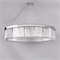 Люстра New York, Nickel Clear crystal D110*H23/123 cm - фото 24255