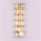 Бра Los Angeles, Gold Clear crystal L22*H51*Sp5 cm - фото 24285
