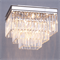 Потолочный светильник Portland, Nickel Clear crystal 40*40*H32 cm - фото 24865
