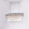 Подвесной светильник Portland, Nickel Clear crystal 120*35*H40/140 cm - фото 24881
