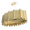 Люстра подвесная Brubeck Oval Gold - фото 5121