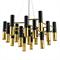Люстра Ike 22 Lamp Черный + Золотой - фото 5151