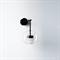 Настенный светильник Bolle Wall 01 Bubble Black - фото 5891