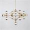 Люстра Modo Chandelier 15 Gold - фото 7659